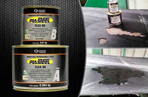 Borracha Reparadora a Frio Plasteel Flex 80