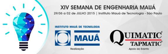 Quimatic Tapmatic apoia evento do Instituto Mauá de Tecnologia