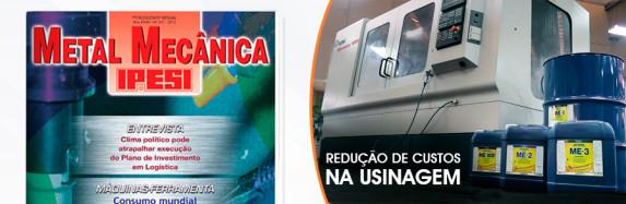 Revista IPESI – Redução de custos na usinagem