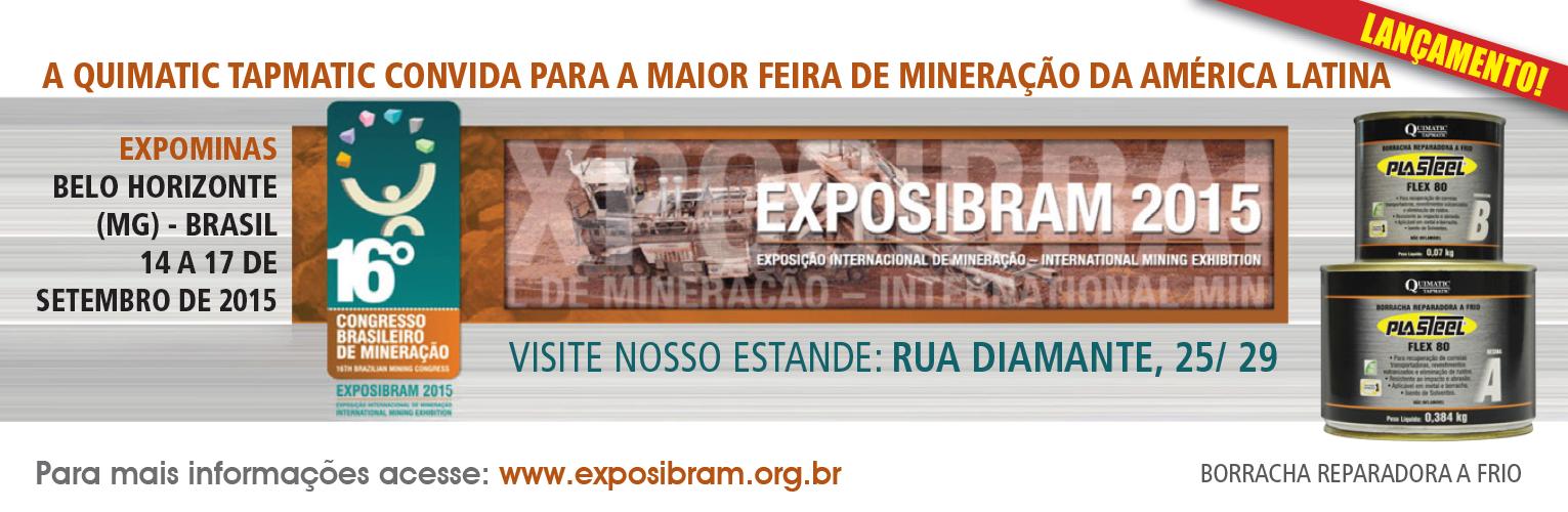 Quimatic Tapmatic na Exposibram 2015