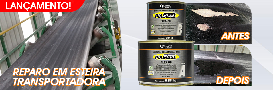 Plasteel Flex 80 borracha reparadora a frio