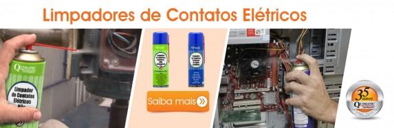 Produtos para limpeza de contatos elétricos em diferentes tipos de componentes!