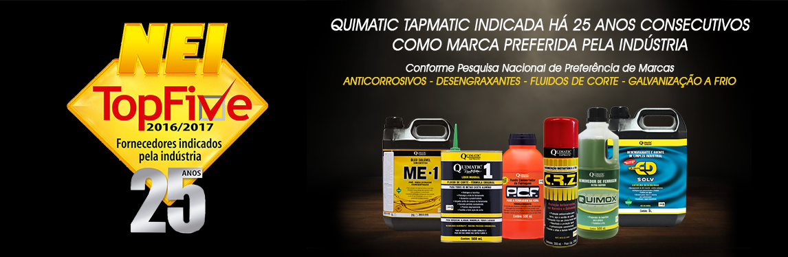 Quimatic Tapmatic NEI TOP FIVE 25 ANOS