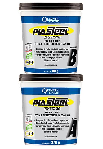 Plasteel Massa 4-1 Solda a Frio para Manutenção de Bombas