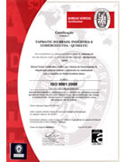 Certificado IS0 2001:2008